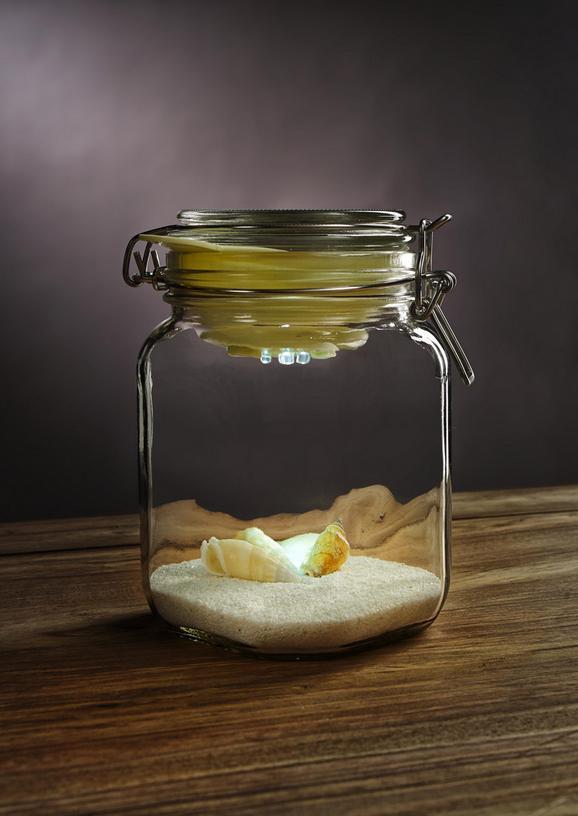 Solarleuchte Rexi aus Glas, max. 0,06 Watt - Glas/Kunststoff (12/16cm) - Mömax modern living