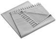 Saunatuch Mariza mit Frottierseite ca.100x200cm - Grau, MODERN, Textil (100/200cm) - Mömax modern living