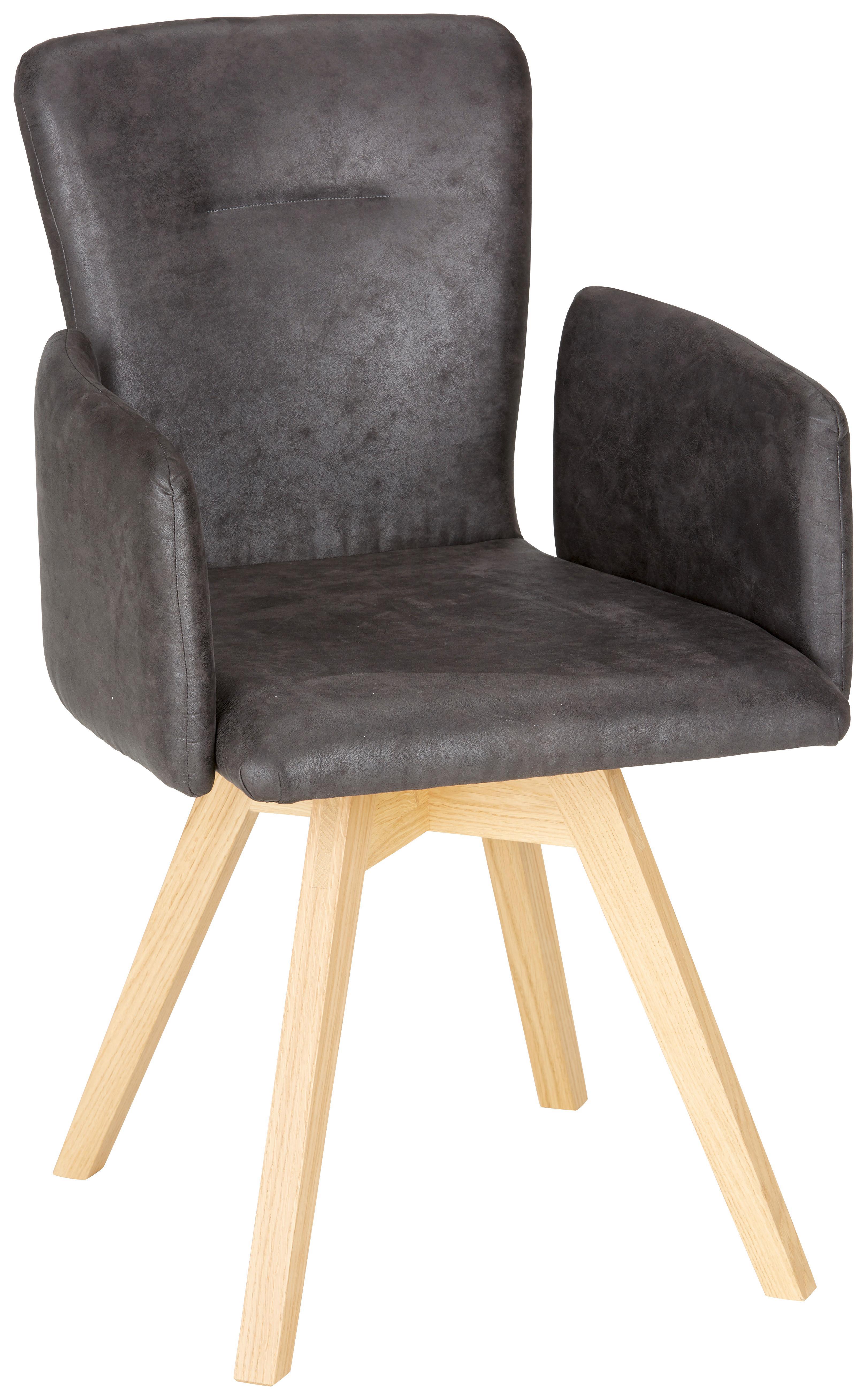 Image of Armlehnstuhl aus Wildeiche