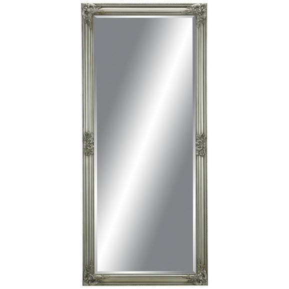 Stensko Ogledalo Barock - srebrna, Moderno, steklo/les (72/162/3cm) - Mömax modern living