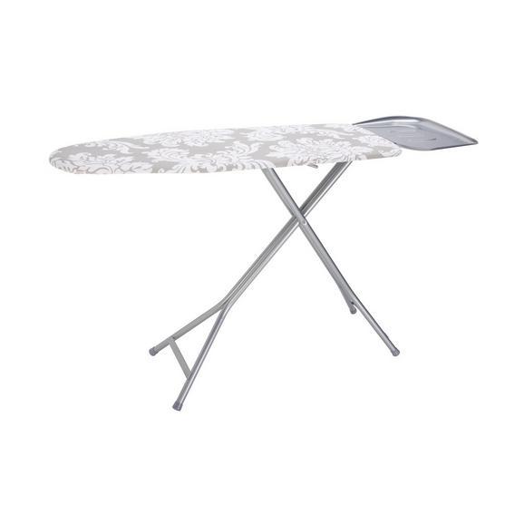 Bügelbrett Kate - Weiß/Grau, Textil (40/120cm) - Mömax modern living