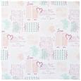 Față De Masă Romance-Ext - alb/bordo, Romantik / Landhaus, textil (85/85cm) - Modern Living