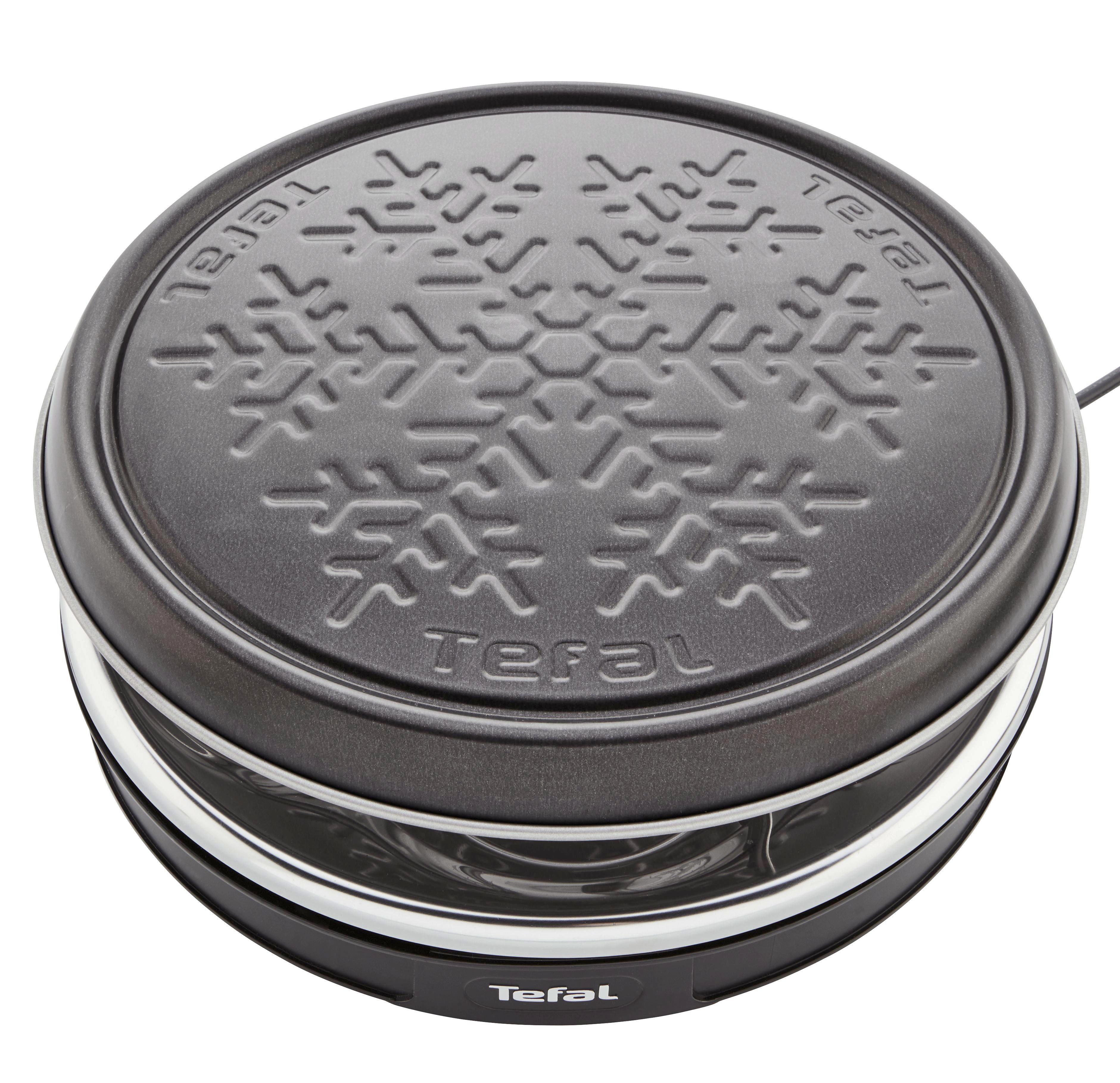 Raclette-grill Tefal - Schwarz, KONVENTIONELL, Kunststoff (35/35/14cm) - TEFAL