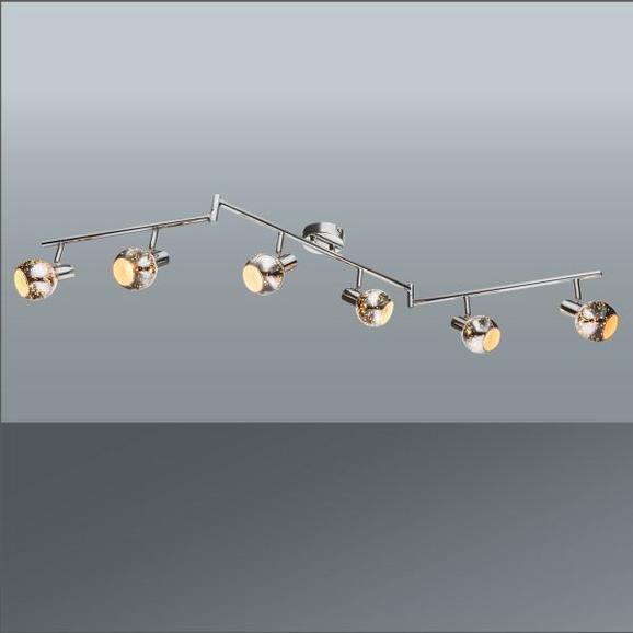 Strahler Mailo, max. 40 Watt - MODERN, Glas/Metall (133/9/17,6cm) - Premium Living