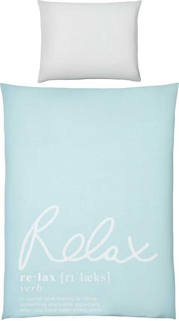 Bettwäsche Relax Oasis Blau 140x200cm - Blau, MODERN, Textil (140/200cm) - Mömax modern living