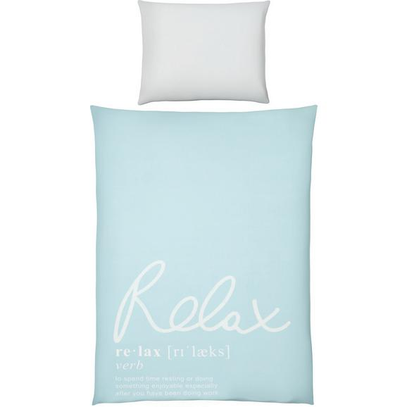 Lenjerie De Pat Relax Oasis - albastru, Modern, textil (140/200cm) - Mömax modern living