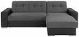 Sedežna Garnitura Fulton - temno siva/črna, Basics, umetna masa (260/160cm) - Mömax modern living
