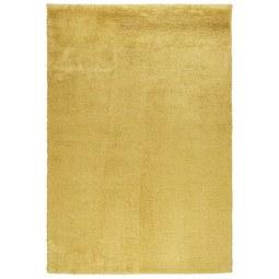 Shaggy Stefan Senfgelb 160x230cm - Gelb, MODERN, Textil (160/230cm) - Mömax modern living