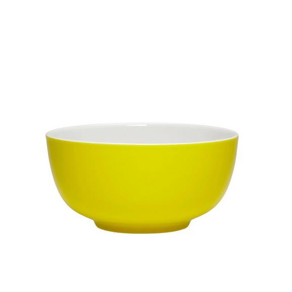 Müslischale Sandy mit Gelb aus Keramik - Gelb, KONVENTIONELL, Keramik (13,7/6,6cm) - Mömax modern living