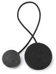 Dekoclip Jan verschiedene Farben - Schwarz/Weiß, Textil (38  cm) - Mömax modern living