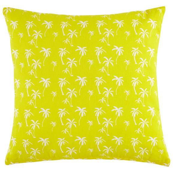 Díszpárna Lady Palms - Sárga, Lifestyle, Textil (45/45cm) - Mömax modern living