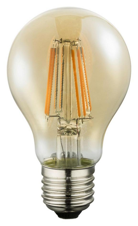 LED-Leuchtmittel 10582a max. 8 Watt - Glas/Metall (6/10,6cm)