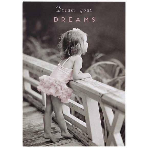 Postkarte Dream your Dreams - Multicolor, Papier (10,5/14,8cm)