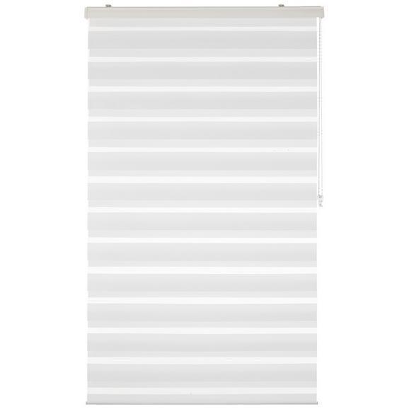 Rulou Zebră Thomas - alb, plastic/textil (100/160cm) - Premium Living