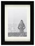 Bilderrahmen Gitta Schwarz ca. 13x18cm - Schwarz, MODERN, Glas/Holz (13/18cm) - Mömax modern living