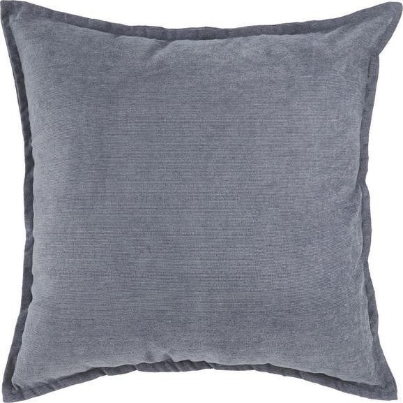 Zierkissen Chenille Kord, ca. 60x60cm - Grau, KONVENTIONELL, Textil (60/60cm) - MÖMAX modern living