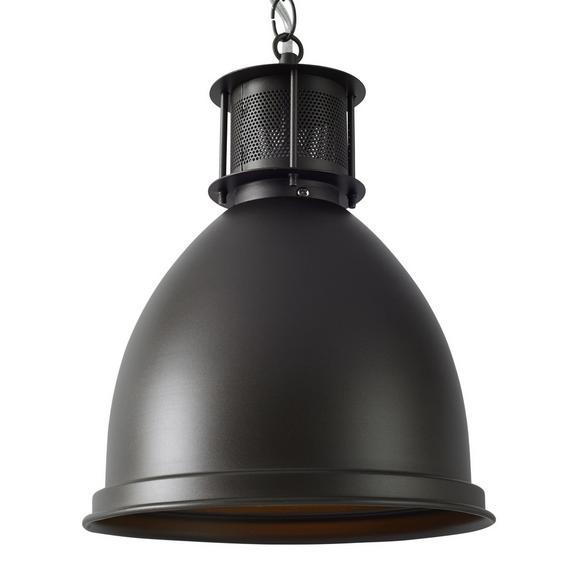 Hängeleuchte Denis, max. 60 Watt - Grau, LIFESTYLE, Metall (22,5/124cm) - Mömax modern living
