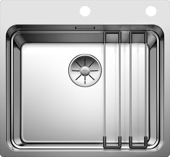 Spüle Blanco 521748 - Edelstahlfarben, Metall (54/50cm) - BLANCO