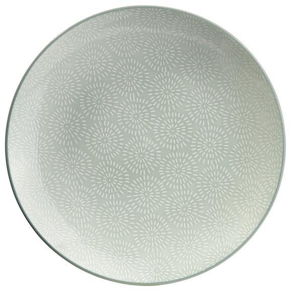 Farfurie Nina - verde mentă, ceramică (26,5cm) - Mömax modern living