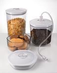 Vakuumierbehälter Gorenje 3er Set - Transparent/Weiß, MODERN, Kunststoff (29,3/15,5/23,20cm) - Gorenje