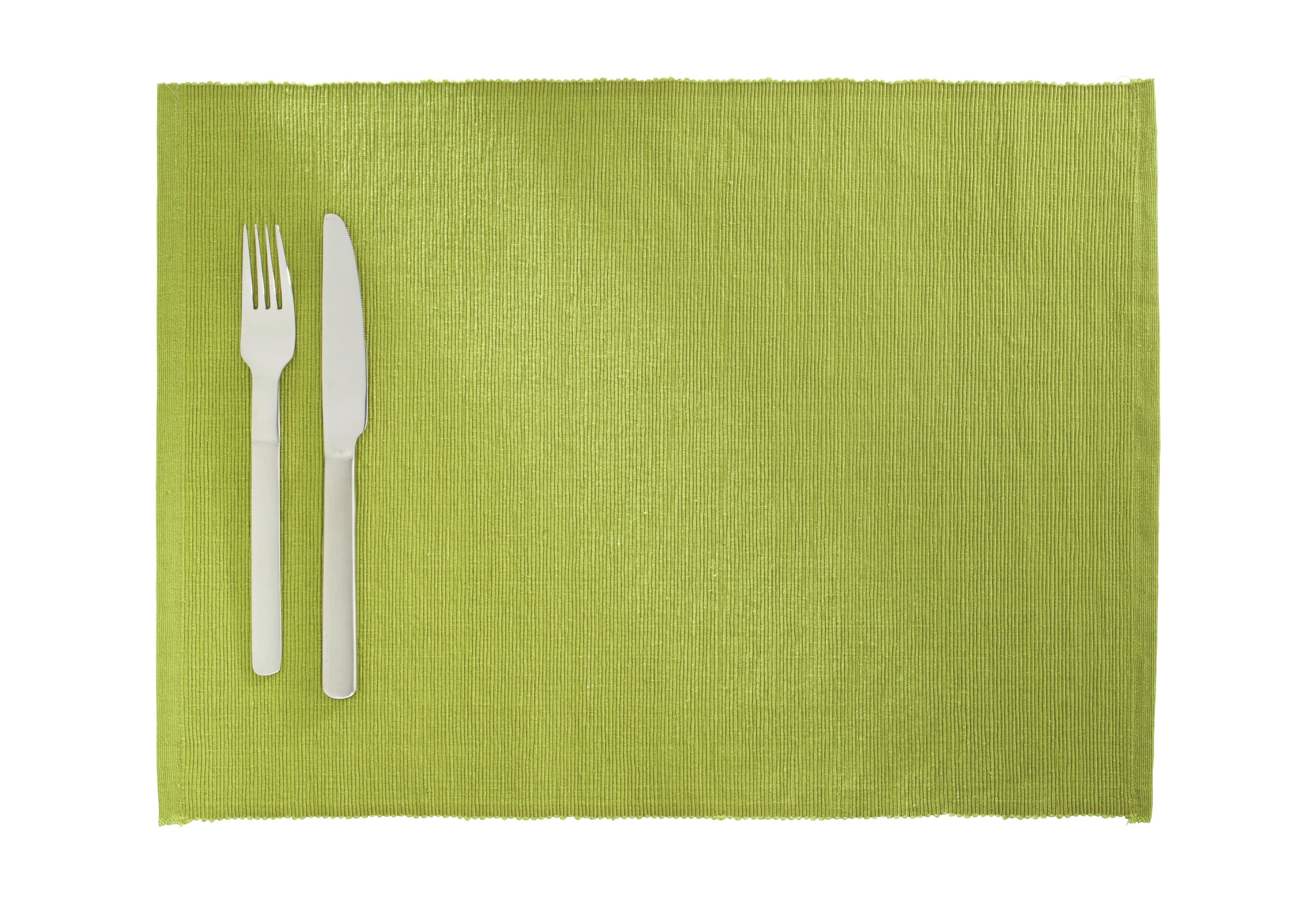 Asztali Szett Maren - zöld, textil (33/45cm) - BASED