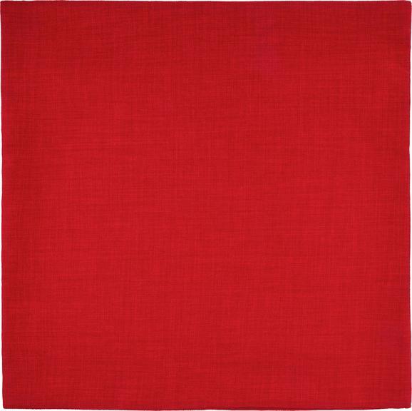Kissenhülle Leinenoptik, ca. 60x60cm - Rot, KONVENTIONELL, Textil (60/60cm) - Mömax modern living