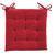 Sitzkissen Lola in Rot, ca. 40x40x2cm - Rot, Textil (40/40/2cm) - Based
