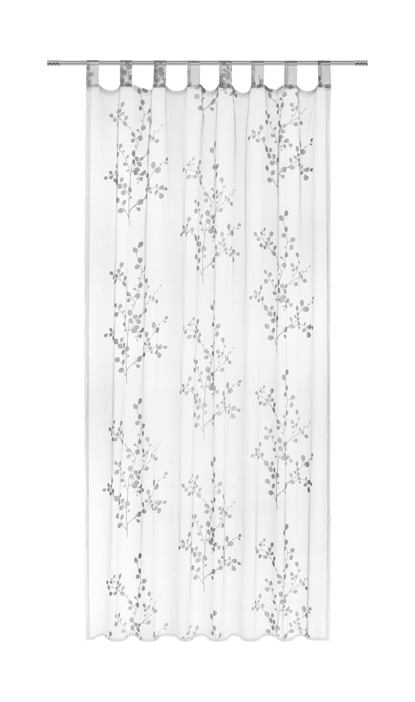 Készfüggöny Christina - rózsaszín/fehér, textil (140/245cm) - MÖMAX modern living