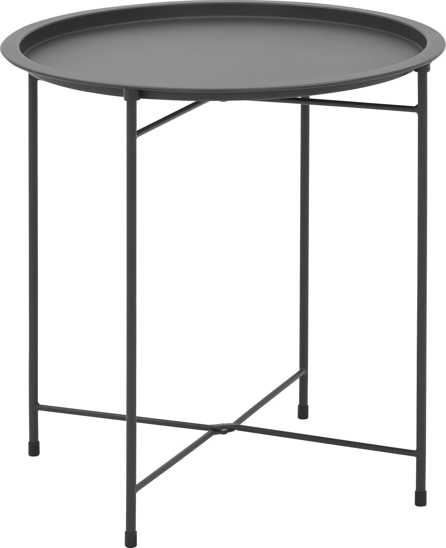 BEISTELLTISCH Fani in Grau - Grau, MODERN, Metall (45/51cm) - MÖMAX modern living