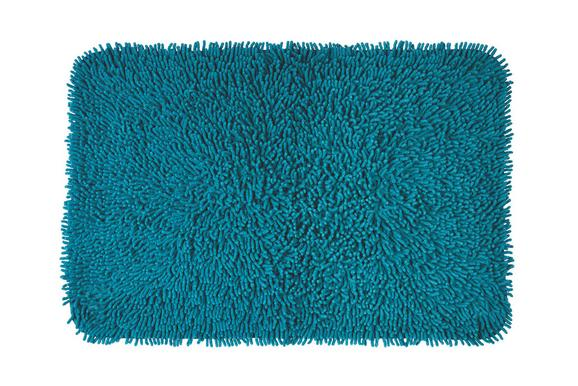 Badteppich Jenny Petrol 60x90cm - Petrol, Textil (60/90/cm) - Mömax modern living