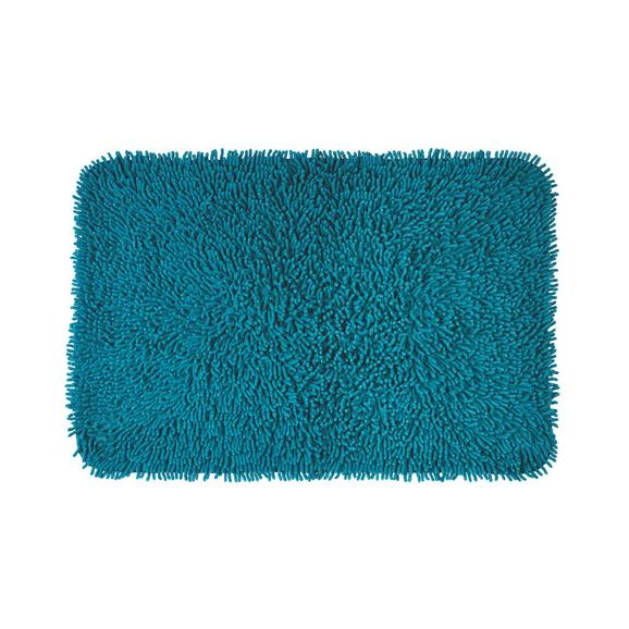 Badteppich Jenny Petrol 60x90cm - Petrol, Textil (60/90cm) - Mömax modern living