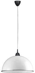 Leuchtenschirm Jay - Weiß, Kunststoff (40cm)