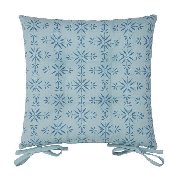 Sitzkissen Agnes Weiß - Weiß, MODERN, Textil (40/40cm) - Mömax modern living