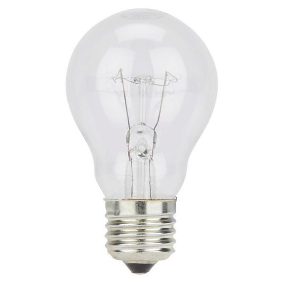 Žarnica Melanie - srebrna/prozorna (5.5/10cm)