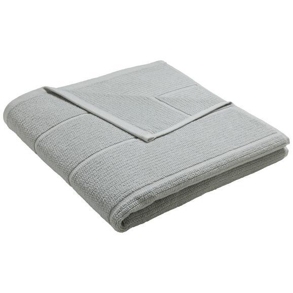 Duschtuch Anna Silberfarben - Silberfarben, Textil (70/140cm) - Mömax modern living