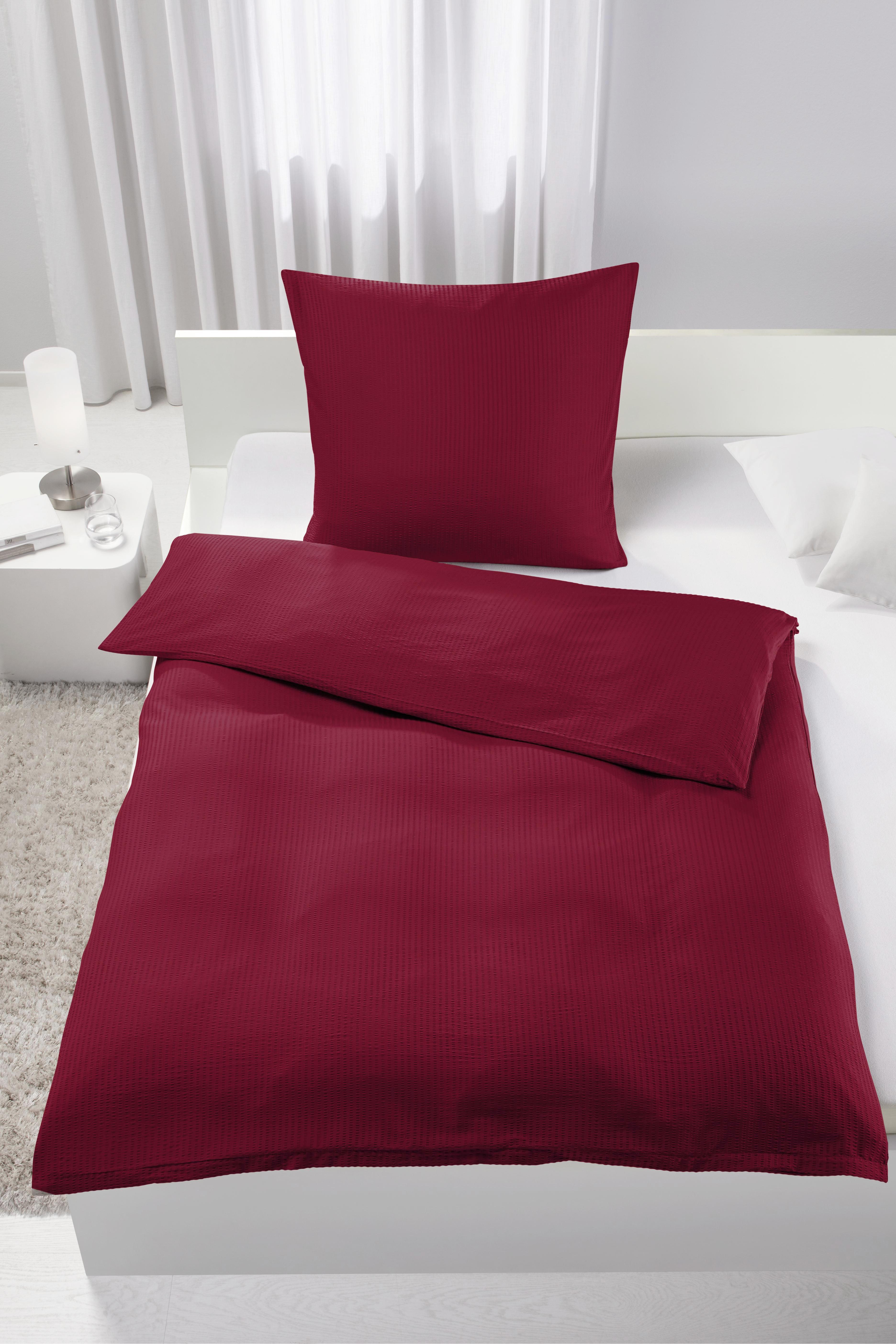 Bettwäsche Brigitte ca. 135x200cm - Rot, Textil (135/200cm) - MÖMAX modern living