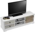 TV-Element Avery - Beige/Weiß, MODERN, Holz/Metall (140/40/45cm) - Premium Living