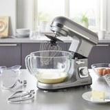 Küchenmaschine Bomann - Titanfarben, MODERN, Glas/Kunststoff (36,4/31,2/28,4cm) - Bomann