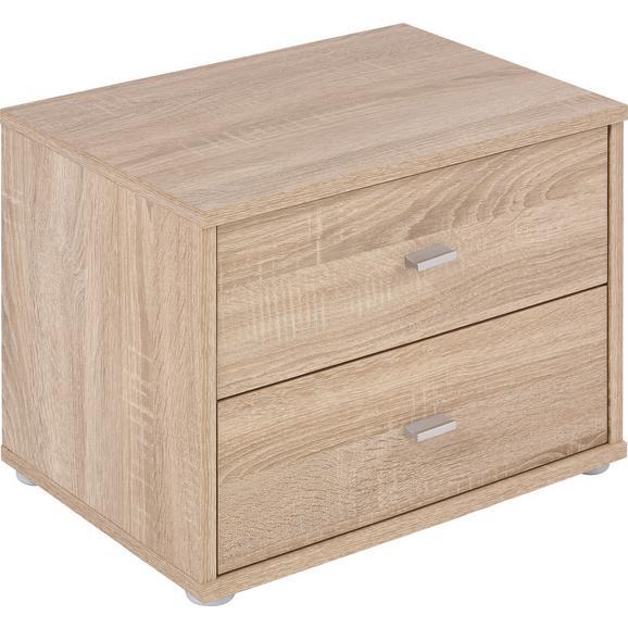 """Noptieră """"4-You"""" - stejar Sonoma, Konventionell, lemn (50/38.1/35.2cm)"""