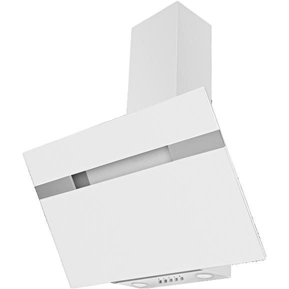 Dunstabzugshaube 60231, Glasschirm Weiß - Weiß, LIFESTYLE (90/113,5/37,5cm) - Mican