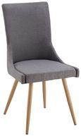 Stuhl Marie- Luisa - Birnbaumfarben/Grau, MODERN, Holz/Textil (49/95/55cm) - Mömax modern living