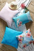 Pernă Decorativă Zippmex - Roz, Material textil (50/50cm) - BASED