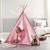 Spielzelt Mariano - Rosa, MODERN, Holz/Kunststoff (125/154/125cm) - Modern Living