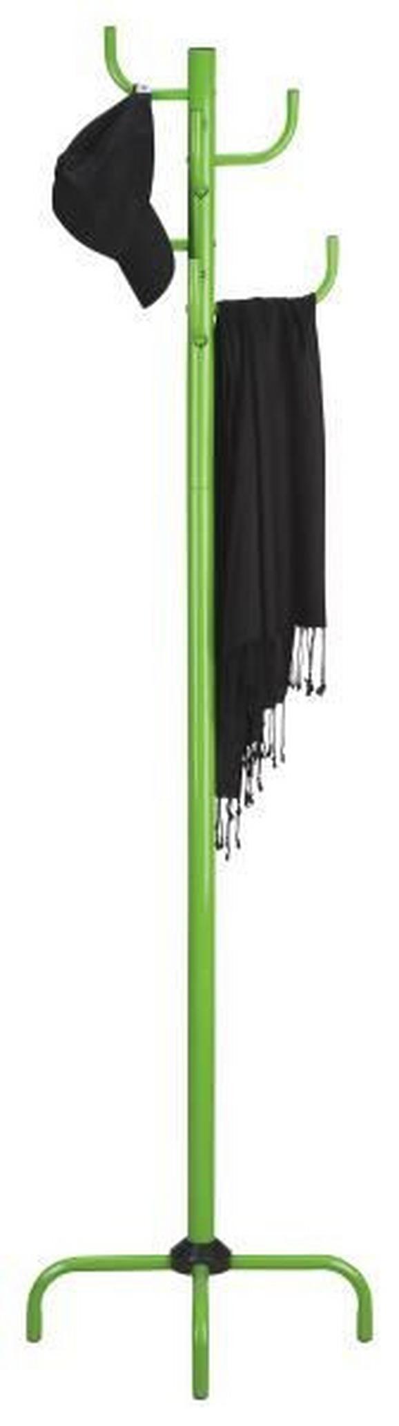 Samostoječ Obešalnik Cactus - zelena, Konvencionalno, kovina (47/180/47cm)
