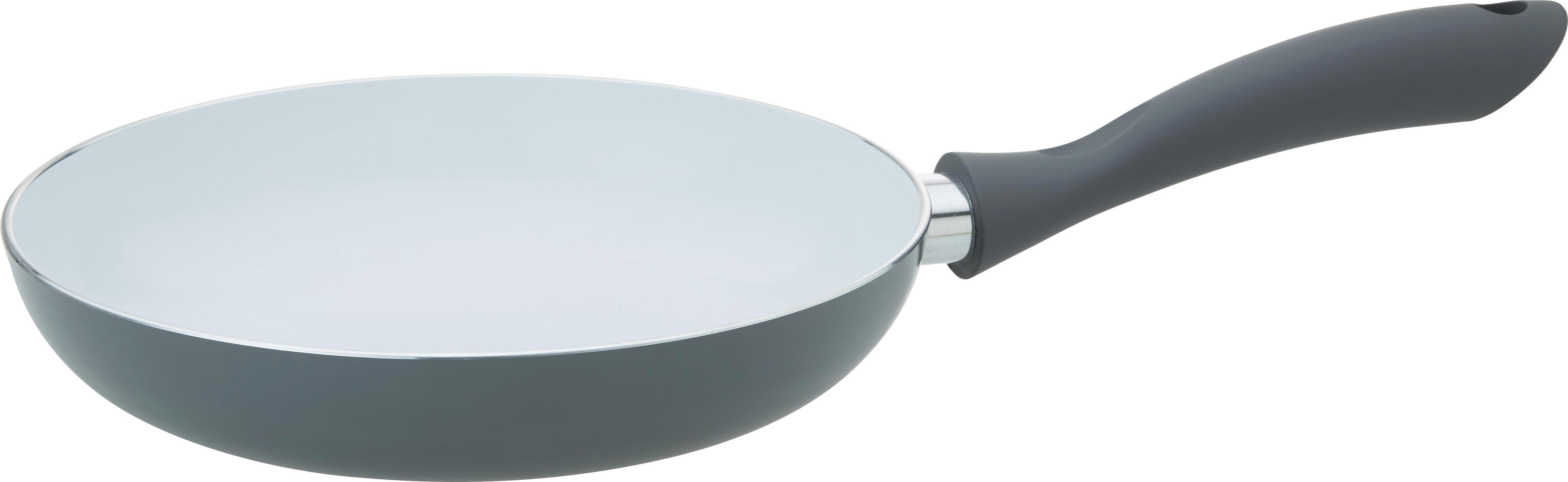 Serpenyő Sonia - fehér/szürke, modern, műanyag/fém (24cm) - MÖMAX modern living