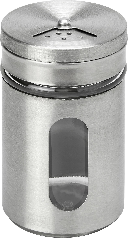 Tárolóedény Gemma - tiszta/nemesacél színű, üveg/fém (4,9/8cm) - MÖMAX modern living