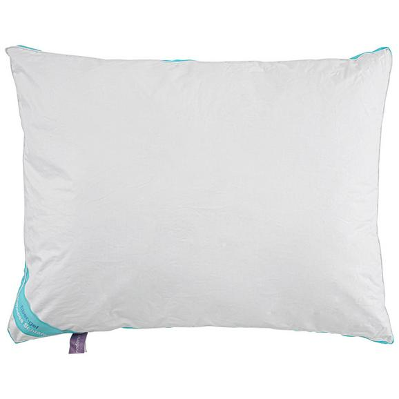3-Kammer-Kissen Wellness, ca. 70x90cm - Weiß, Textil (70/90cm) - Nadana