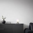 Namizna Svetilka Cup - bela, Moderno, kovina/steklo (12,5/18cm) - Mömax modern living
