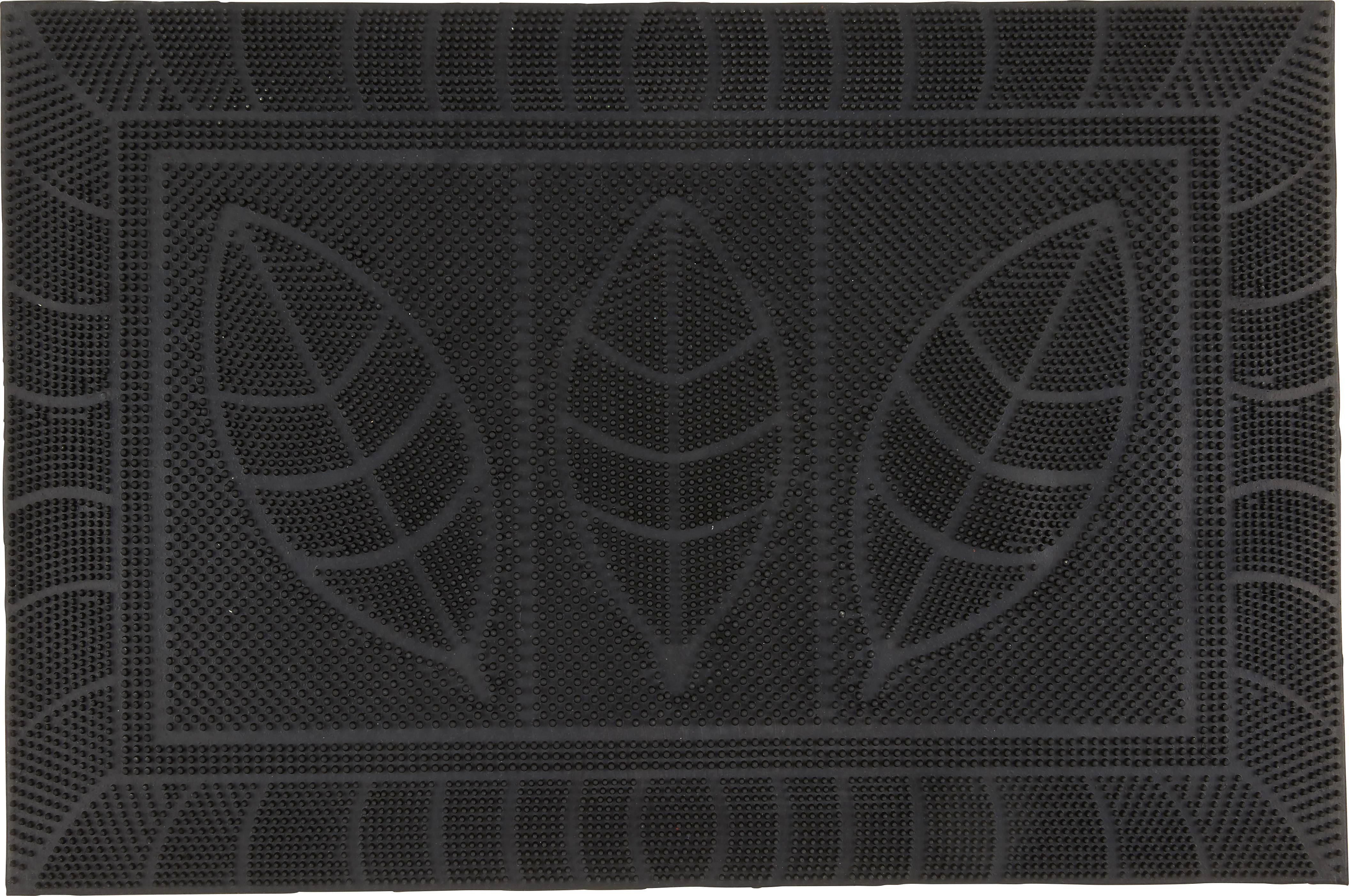 Fußmatte Doris in Schwarz, ca. 40x60cm - Schwarz, Kunststoff (40/60cm) - MÖMAX modern living