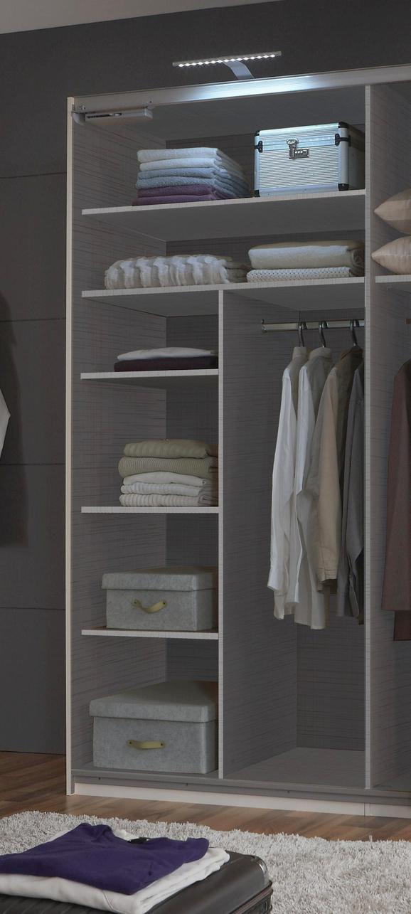 Notranja Razdelitev Dodatki - siva, leseni material/les (110/150/50cm) - Mömax modern living